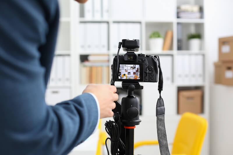 tournage video